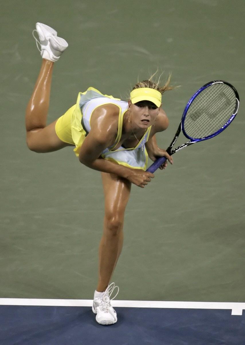 Interesting. Maria sharapova tennis there are